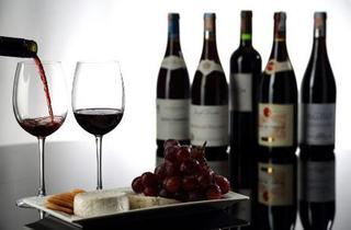 Wine tasting at G Lounge