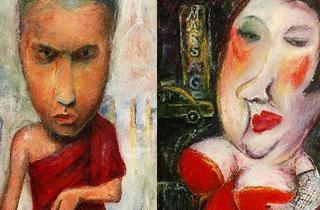 Solo Art Exhibition 'Characters' by Nalidsa Sukprasert