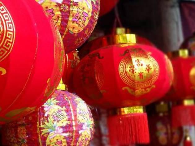 Chinese New Year countdown