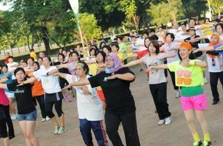 Aerobics in Seberang Perai