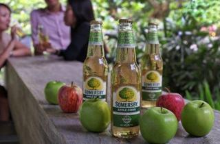 Somersby Apple Cider promo at Nueve