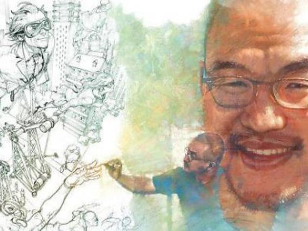 Kim Jung Gi Live Sketch In Penang