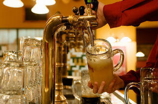 Brussels Beer Cafe Anniversary Beer Promotion