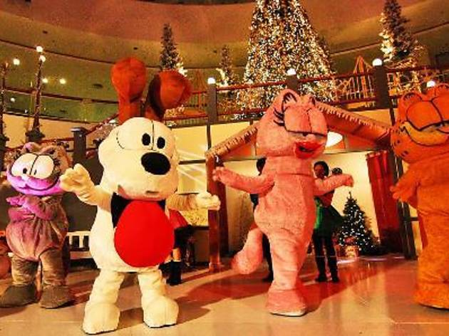 Garfield Live at Queensbay Mall