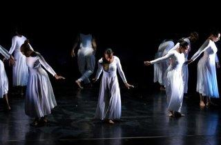 Living Contemporary Dance Performance