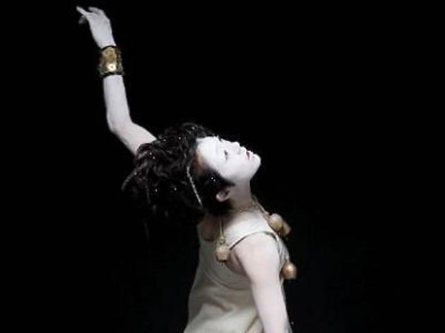 Solo Butoh dance by Yuko Kawamoto