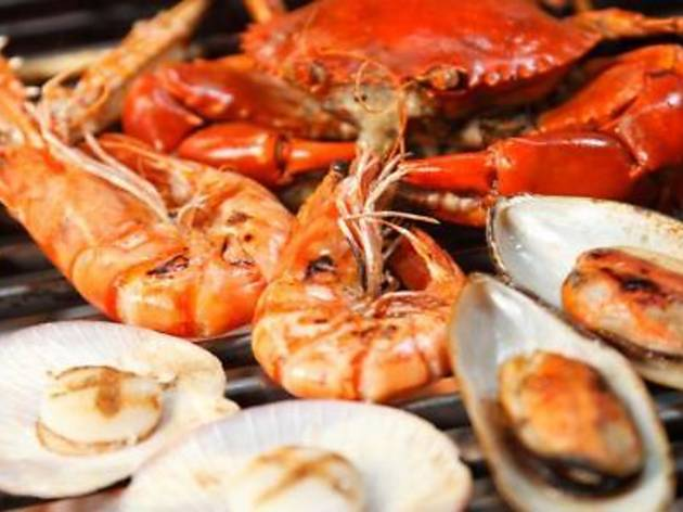 Shellfish Galore at G Cafe