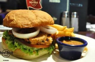 Hard Rock Cafe's Merdeka Burger