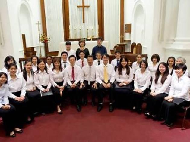Choir at Assumption Church