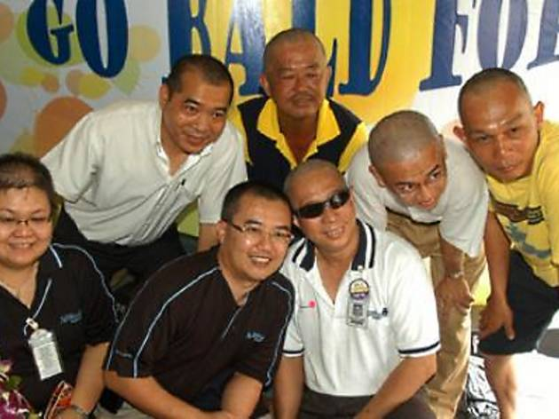 '88 Shining Heads' Charity Go Bald and Food Fair