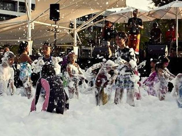 Hard Rock Hotel's Ultimate Foam Party