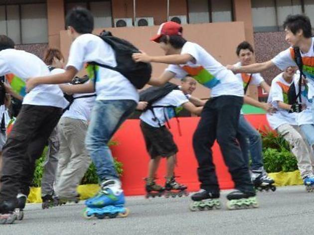 Penang Open Freestyle Skating Competition 2012