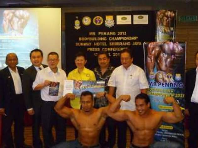 Mr Penang Bodybuilding Championship 2013
