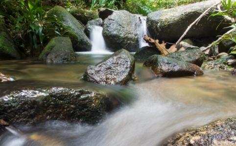 Titi Kerawang Waterfall