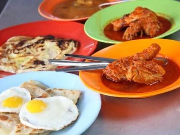Special Famous Roti Canai at Jalan Transfer