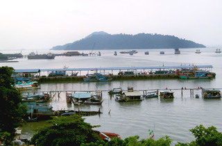 Batu Maung Fishing Village
