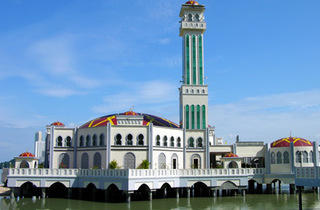 Floating Mosque of Tanjung Bungah