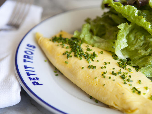 Omelette at Petit Trois