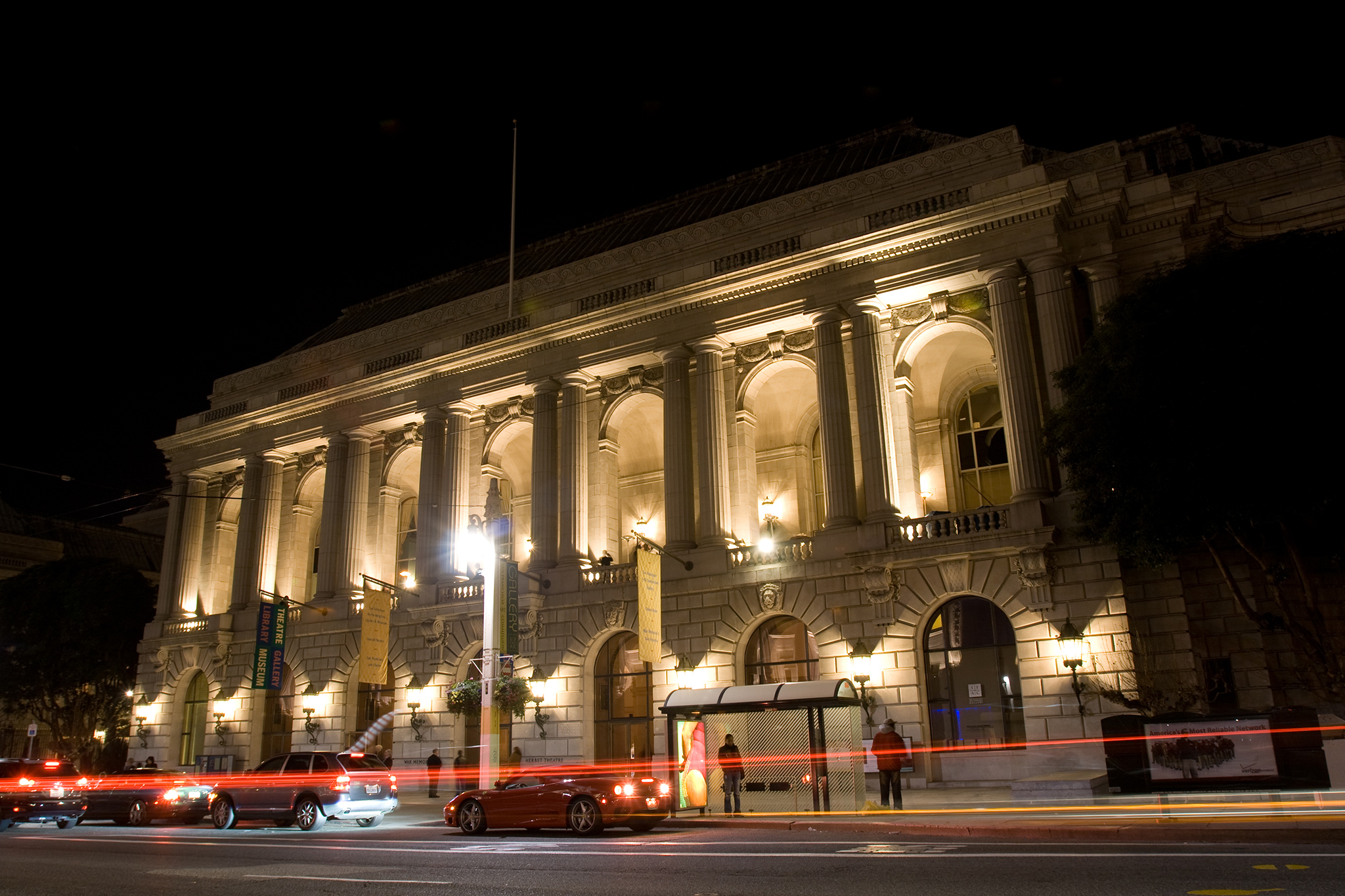 Take a tour of the War Memorial Opera House