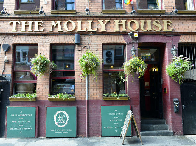 The Molly House, Manchester, Exterior