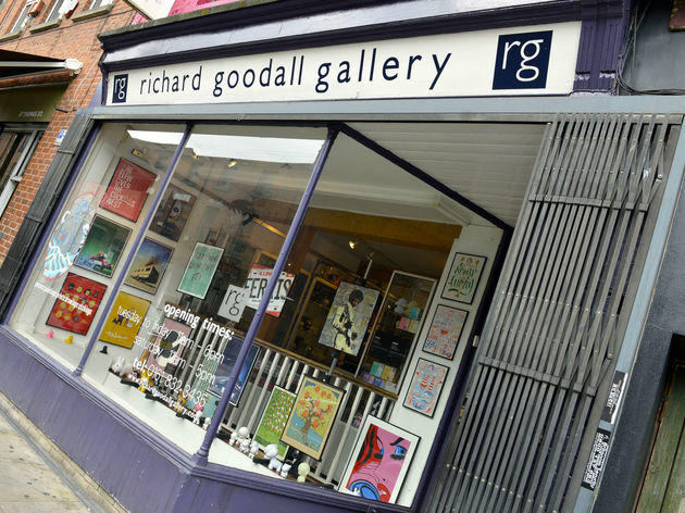 Richard Goodall Gallery, Manchester