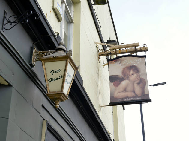 The Angel, Manchester, Sign