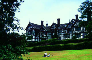 Bramall Hall, Stockport, Manchester, Panoramic