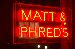 Matt & Phreds, Manchester, Sign