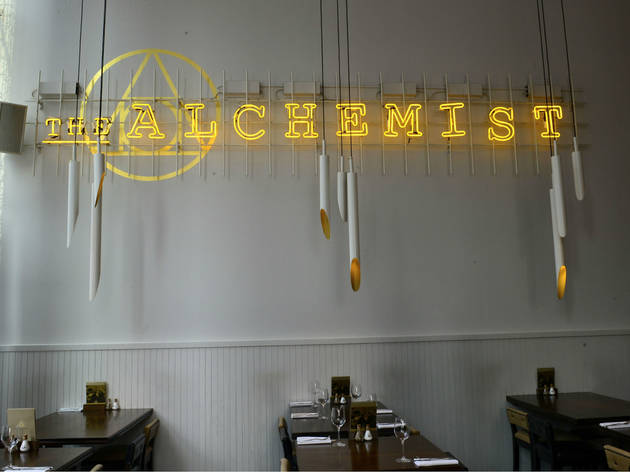 Alchemist Spinningfields, Manchester, Sign