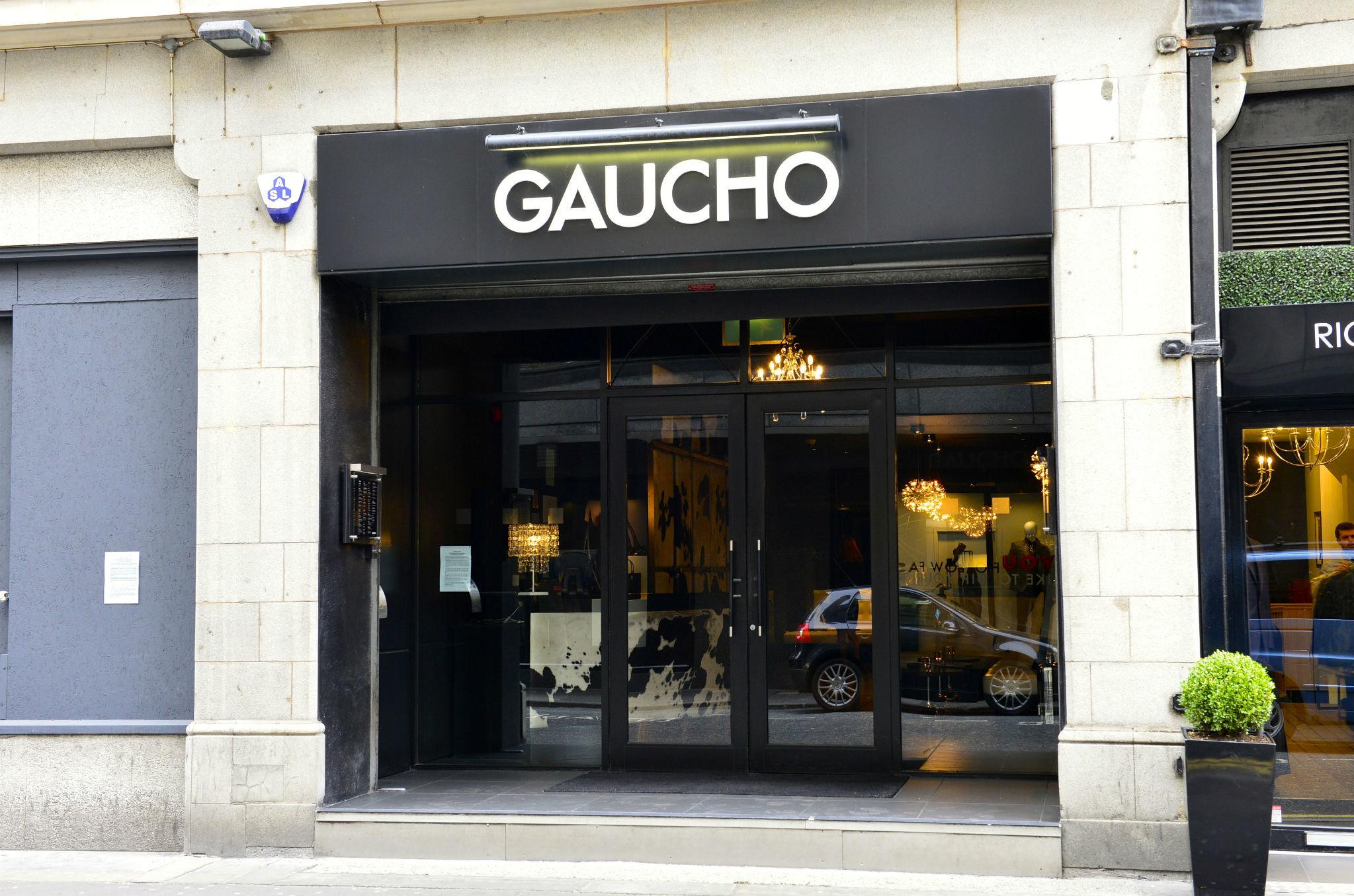 Gaucho, Manchester, Exterior