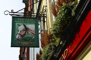 The Old Nag's Head, Manchester, Sign