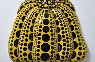 Yayoi Kusama ('I Carry on Living with the Pumpkins', 2014)