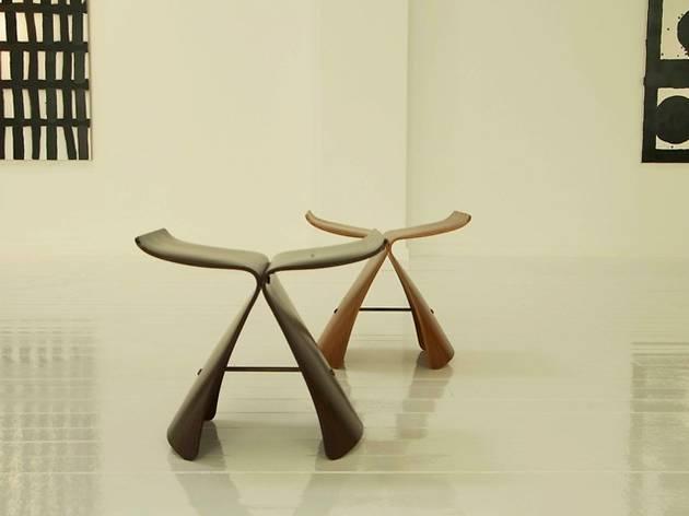 Butterfly stool, 1950. Sory Yanagi