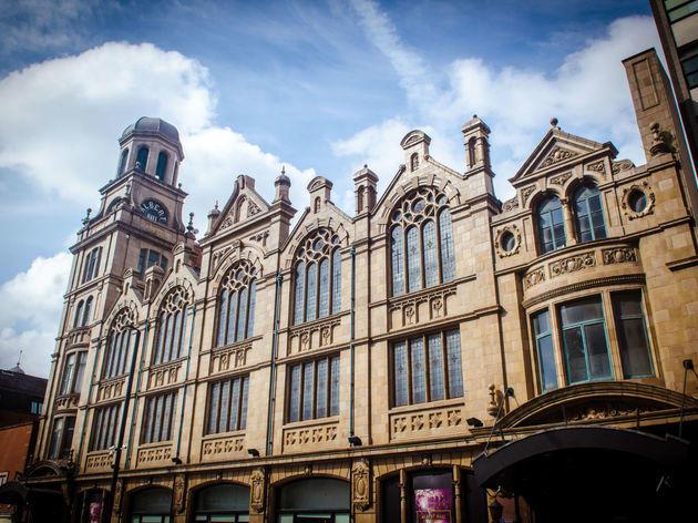 Albert Hall, Manchester, Exterior