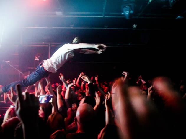 Gorilla, Manchester, Crowdsurf