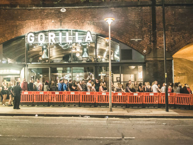Gorilla Music In City Centre Manchester