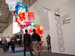 Expo Chicago 2014 kicked off with Vernissage, an opening-night preview at Navy Pier's Festival Hall.