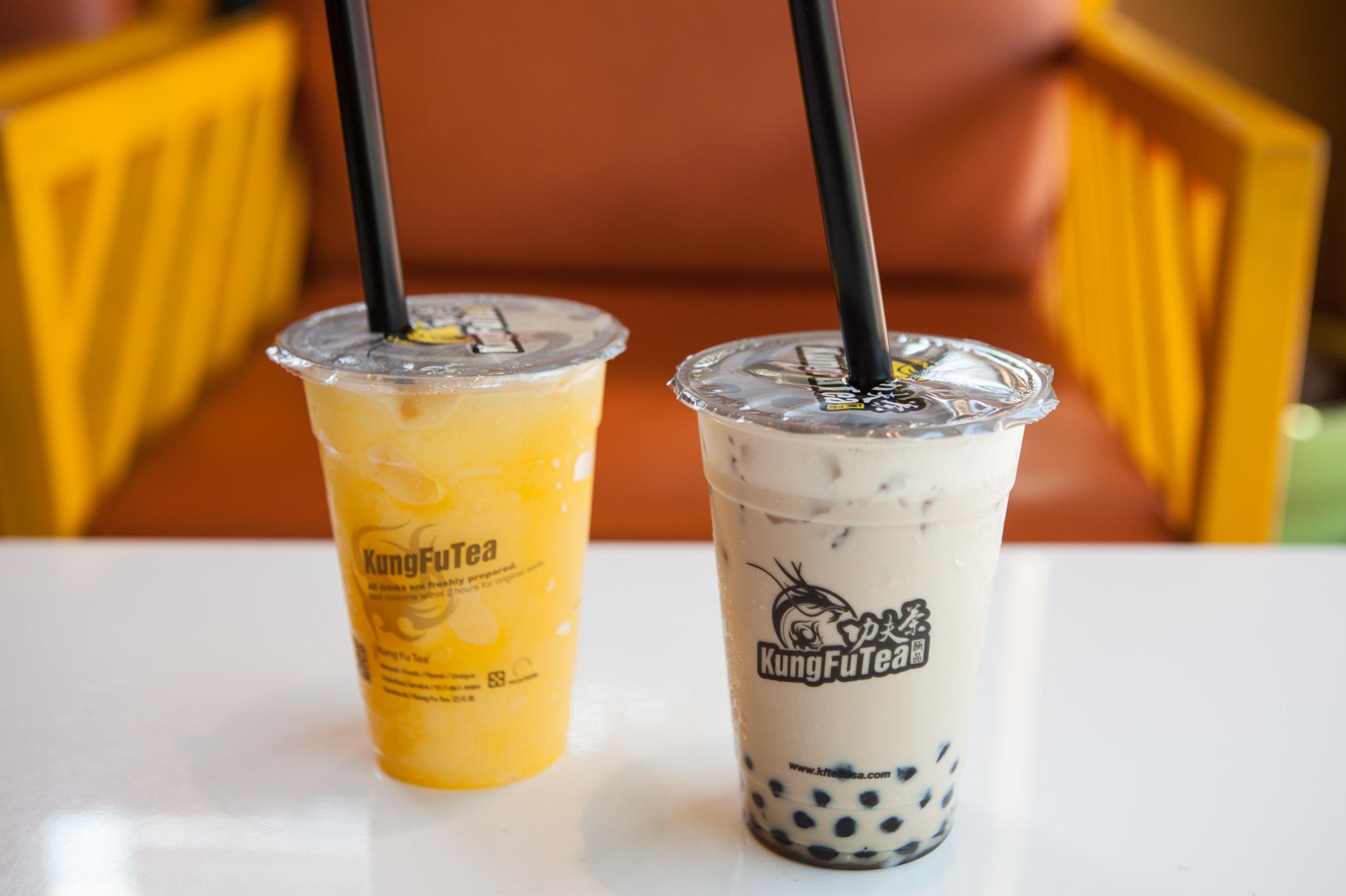 Bubble tea spots in Ch...