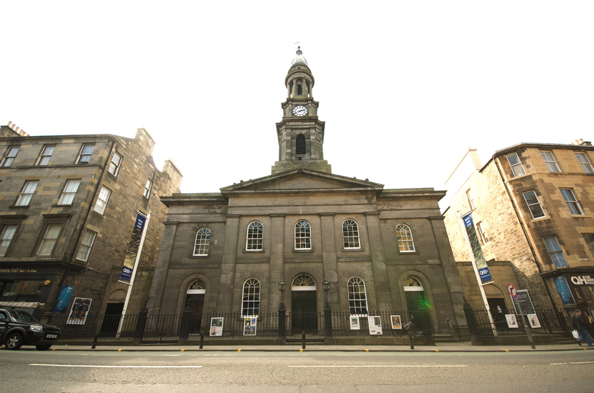 Experience a gig at the Queen's Hall