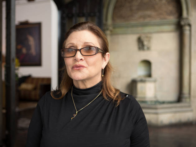 Carrie Fisher interview
