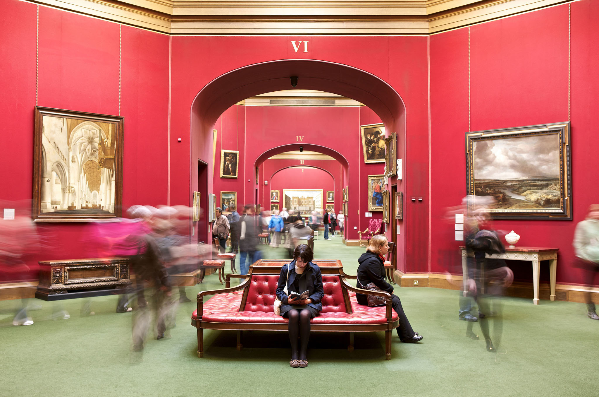 Take in some art at the Scottish National Galleries
