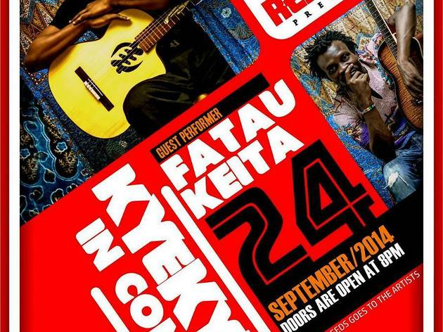 Kyekyeku and Fatay Keita live at Republic
