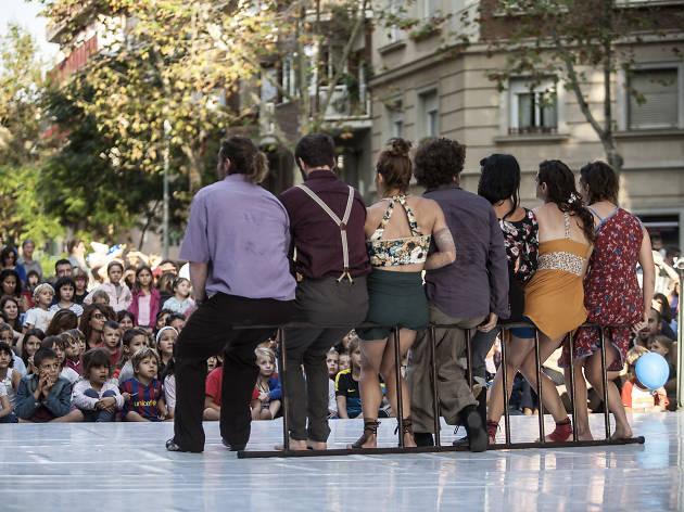 CIRCORTS. Festival de Circ al Carrer de les Corts