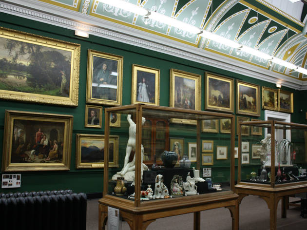 Salford Museum and Art Gallery, Manchester, Display
