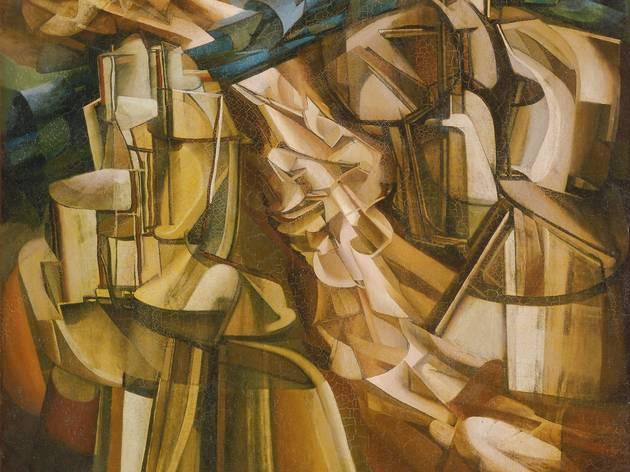 (Marcel Duchamp, 'Le Roi et la reine entourés de nus vites', 1912 / © Philadelphia Museum of Art / ArtResource / Scala, Florence / © Succession Marcel Duchamp / ADAGP, Paris 2014)