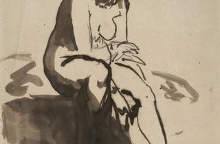 (Edouard Manet, 'Baigneuse', 1910–1911 / Collection privée)