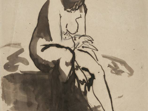 (Edouard Manet, 'Baigneuse', 1910–1911 / Collection privée)