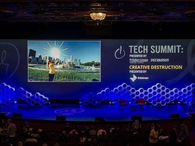 Tech Summit at Chicago Ideas Week.