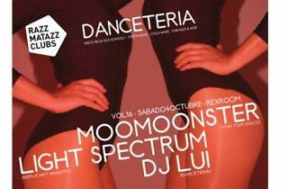 Danceteria: MooMoonster + Light Spectrum + DJ Lui