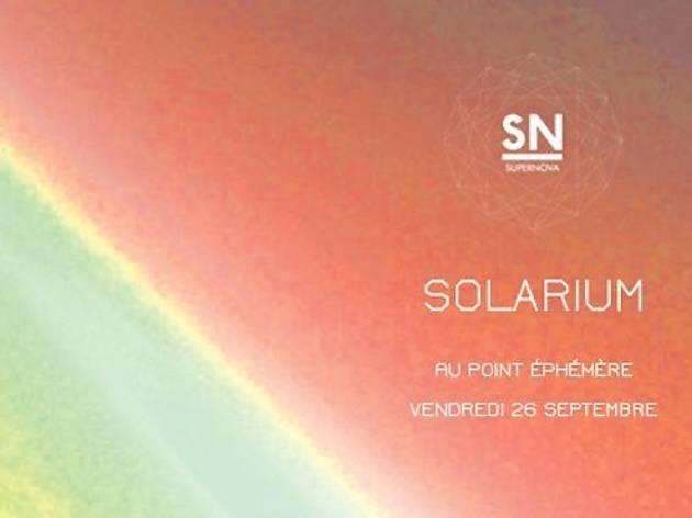 Supernova présente Solarium